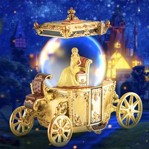 水晶球音乐盒八音盒创意生日礼物女生送女友闺蜜女孩儿童浪漫特别
