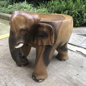 实木大象凳换鞋凳门口穿鞋小<span class=H>矮凳</span>招财大象椅子坐凳沙发茶几凳子
