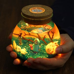 <span class=H>陶瓷</span>愿望瓶装<span class=H>饰品</span>材料包超大景观瓶子夜光沙瓶海洋<span class=H>许愿瓶</span>海底世界