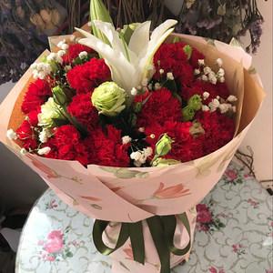 北京康乃馨上海送妈妈生日鲜花速递郑州福州合肥重庆天津同城花店
