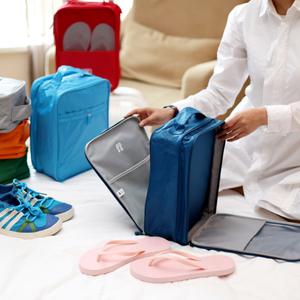 博泰三双鞋收纳袋刘涛同款旅行鞋袋旅游鞋包防脏推荐<span class=H>鞋子</span>整理袋盒