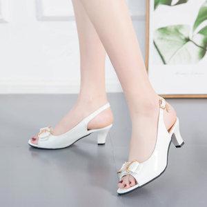 韩版春季新款尖头单鞋女鞋夏百搭