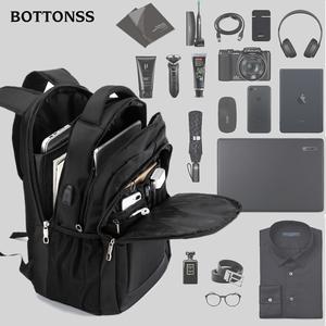 背包男士<span class=H>双肩包</span>时尚潮流初中高中学生书包女大容量商务旅行电脑包