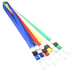 合式美 HSM-1501塑料皮扣挂绳卡套胸卡证件卡员工证胸牌1.5宽<span class=H>吊绳</span>