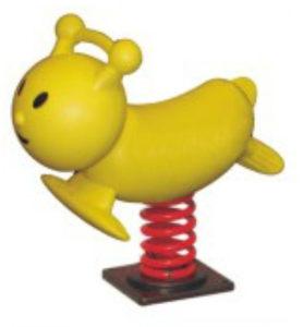 正品彈簧木馬幼兒園親子園游樂場室外兒童動物搖搖樂塑料<span class=H>搖馬</span>特價