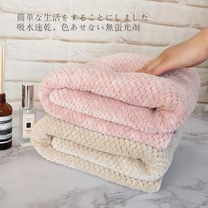 日本yodo xiui菠萝格大<span class=H>浴巾</span>成人婴儿宝宝儿童男女吸水速干不掉毛
