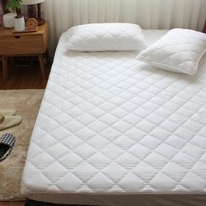 棕垫乳胶垫薄<span class=H>床垫</span>专用保护套 床笠式<span class=H>床护垫</span>纯棉夹棉全棉床罩床套