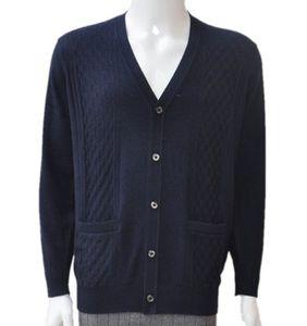 春秋薄款中老年男士羊绒开衫老人加肥加大针织<span class=H>毛衣</span>外套对襟羊毛衫