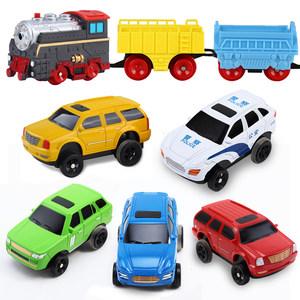 立昕电动轨道小<span class=H>汽车</span> 托马斯火车 和谐号动车组专用车配件
