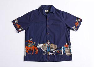 SBC 美式复古休闲夏威夷短袖衬衫Hawaii <span class=H>Aloha</span> Shirt 户外海滩风