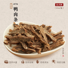 COMA Self-made Duck Rolls, Duck Dried Meat, 60g Pet Food, Teddy Dog Snacks, Deodorizing Molars and Dental Cleaning