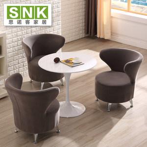 休息区桌椅创意<span class=H>椅子</span>靠背售楼处部4S店商务洽谈桌椅接待桌椅组合