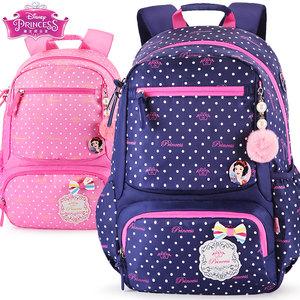 品牌正品<span class=H>书包</span>小学生女童1-3-6年白雪公主休闲旅行双肩包儿童背包