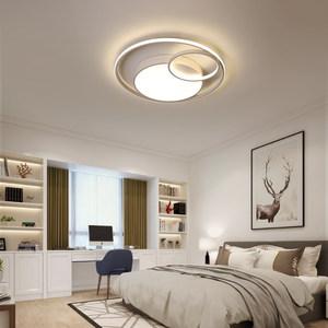 网红led主卧室吸顶灯简约现代家用温馨浪漫个性ins北欧主人房间灯