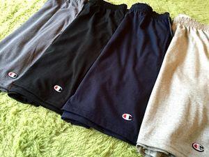 现货 Champion Basic Shorts 刺绣 基础 休闲 运动 棉质短裤 <span class=H>卫裤</span>