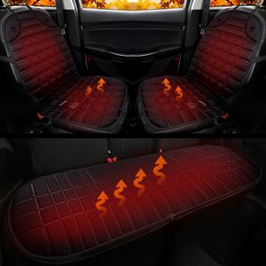 汽车加热坐垫冬季 车载<span class=H>座垫</span>椅冬天车内用后排电加热12V小车<span class=H>通用</span>