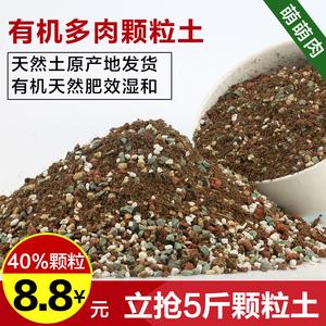 多肉植物营养土泥炭土多肉土叶插换盆土多肉专用土多肉颗粒土<span class=H>包邮</span>