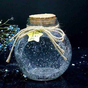 许愿瓶可装520颗折纸星星星空瓶幸运夜光瓶玻璃瓶成品沙生日礼物