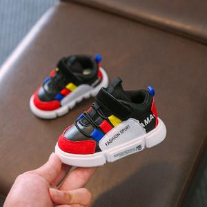 笨笨熊 正品牌小童宝宝鞋婴儿学步鞋软底0-1-3一岁2男女幼儿加绒