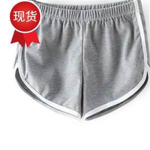 高腰甜美女a士女装睡裤运动<span class=H>短裤</span>女运动版家居服柔软美式旅游超短