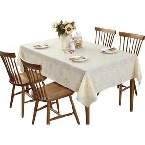 茶机布艺桌布防水家居欧式创意桌面田园长方形<span class=H>餐桌</span>塑料新中式