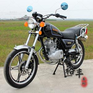 二手铃木gn125太子车四冲程骑式跨式车复古助力<span class=H>摩托车</span>燃油车<span class=H>整车</span>
