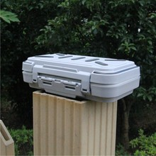 Outdoor Fishing Waterproof Big Fittings Box, Small Road Toolbox, Storage Box, Fishhook Receiving Box, Fishing Goods
