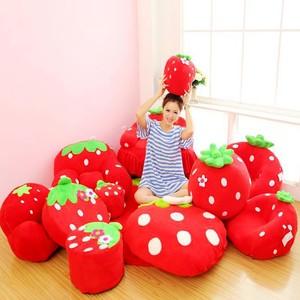 儿童韩式成人草莓宝宝可爱卡通懒人幼儿园<span class=H>榻榻米</span>组合<span class=H>沙发</span>椅包邮