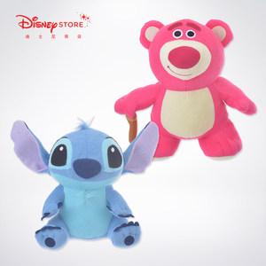 迪士尼商店 星际宝贝史迪奇玩具总动员草莓毛绒<span class=H>公仔</span>玩具