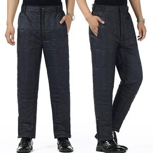 内穿爸爸长<span class=H>裤</span><span class=H>男装</span>加厚中老年人<span class=H>裤</span>子大码冬季保暖棉衣高腰<span class=H>羽绒</span><span class=H>裤</span>