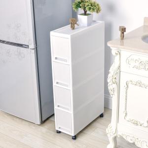 夹缝置物架厨房冰箱旁18CM宽缝隙储物<span class=H>柜</span>卫生间可移动夹缝收纳<span class=H>柜</span>
