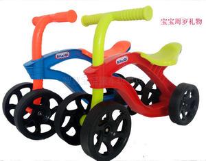 热卖儿童滑行<span class=H>学步车</span>宝宝<span class=H>踏行车</span>无脚踏自行车四轮平衡车1-2岁溜溜