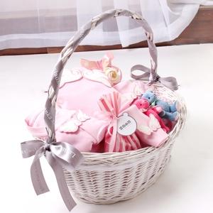 兰咖小熊新生婴儿礼盒秋冬新生儿衣服套装礼盒刚出生宝宝满月送礼