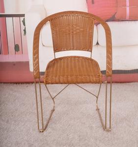 铁艺桌椅藤椅茶几三件套阳台桌椅住宅<span class=H>家具</span>户外庭院休闲椅五件套