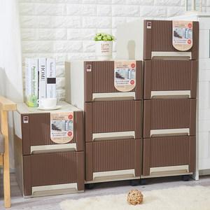 四层抽屉式收纳柜厨房储物柜食品收纳柜整理柜夹缝<span class=H>置物柜</span>包邮