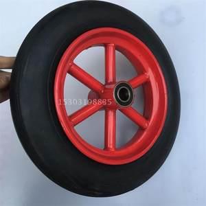14寸免充气轮实心<span class=H>轮胎</span>橡胶<span class=H>轮胎</span>手<span class=H>推车</span>老虎车轮300-8防爆防扎轮