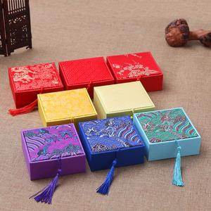 新品首饰包装盒 <span class=H>珠宝</span>饰品手串盒 佛珠文玩礼品盒 挂件项链戒指盒