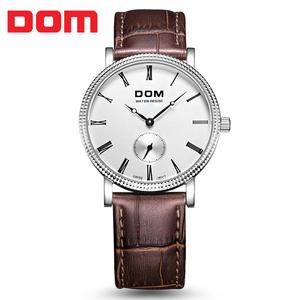 新款DOM正品百搭腕表品牌<span class=H>手表</span>流行<span class=H>手表</span>石英男士精品精准<span class=H>手表</span>促销