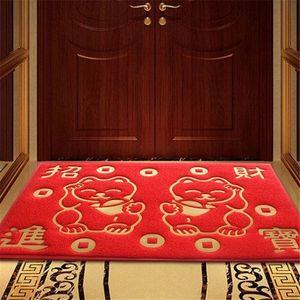 酒店玄关门垫吸水简约大门口<span class=H>地垫</span> 进门 家用门外垫子卫浴门前脚踏