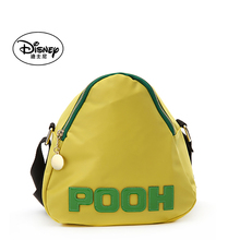 Disney's one-shoulder lady bag with sloping shoulder, light nylon cloth letters colliding with color, leisure lady bag with triangular bag and dumpling bag