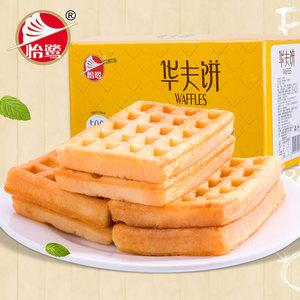 怡鷺原味經典<span class=H>華夫餅</span>軟面包營養休閑食品點心糕點早餐食品零食整箱