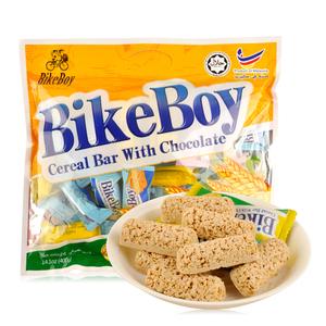 进口零食<span class=H>饼干</span>马来西亚<span class=H>燕麦</span>棒Bikeboy白<span class=H>巧克力</span><span class=H>燕麦</span>棒400g 早餐点心