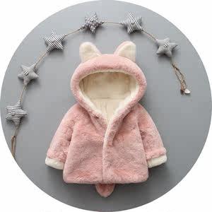 0婴儿衣服2冬款1岁半8冬季9加厚612个月女宝宝<span class=H>棉衣</span><span class=H>外套</span>3周岁10潮