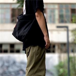 日本dpucex潮牌日系男女同款潮包防水单肩包斜挎包超轻背包