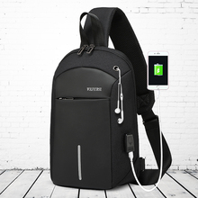 Brassiere Men's Business Leisure Single Shoulder Slant Handbag 2019 New Multifunctional Fashion Sports Backpack