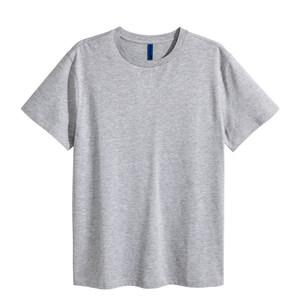 H&M DIVIDED男装纯白t恤男半袖宽松纯色打底短袖<span class=H>上衣</span>潮HM