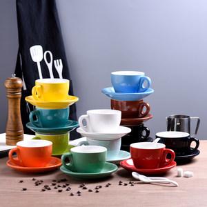 欧式小奢华<span class=H>陶瓷</span>咖啡杯卡布拿铁套装创意简约家用咖啡<span class=H>杯子</span>下午茶杯