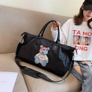 卡通<span class=H>旅行包</span>大容量轻便可爱韩版短途网红行李包女手提出差旅游包潮