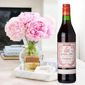 杜凌红味美思 DOLIN ROUGE VERMOUTH 法国洋酒 威末酒 开胃酒