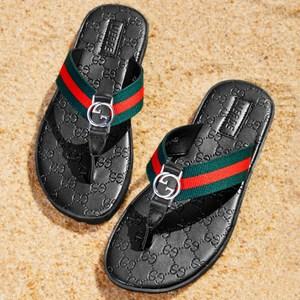 拖鞋男潮真皮情侣沙滩鞋夹脚<span class=H>凉鞋</span>男士凉拖鞋夏季室外穿人字拖时尚